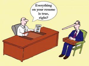 Đừng bao giờ nói dối trong CV xin việc
