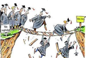 Sinh viên ra trường làm việc trái ngành