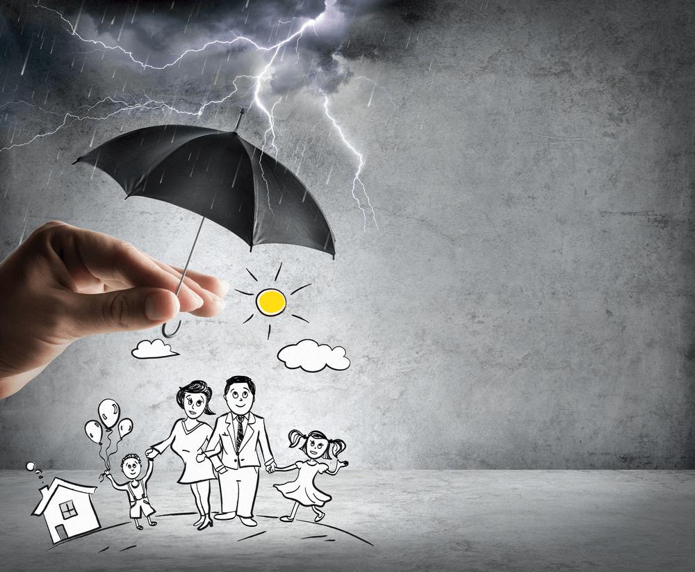 bảo hiểm nhân thọ giống như chiếc ô