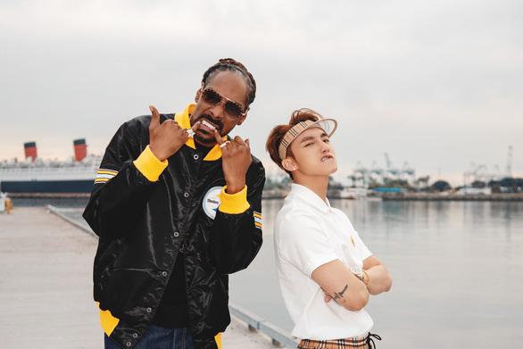 Sơn Tùng cùng Snoop Dogg