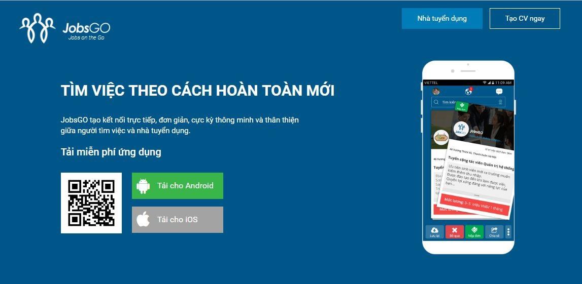 app-tìm-việc-nhanh-JobsGO