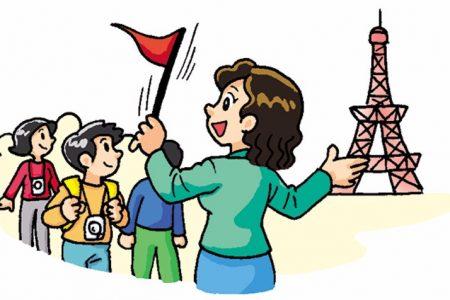 hướng dẫn viên du lịch