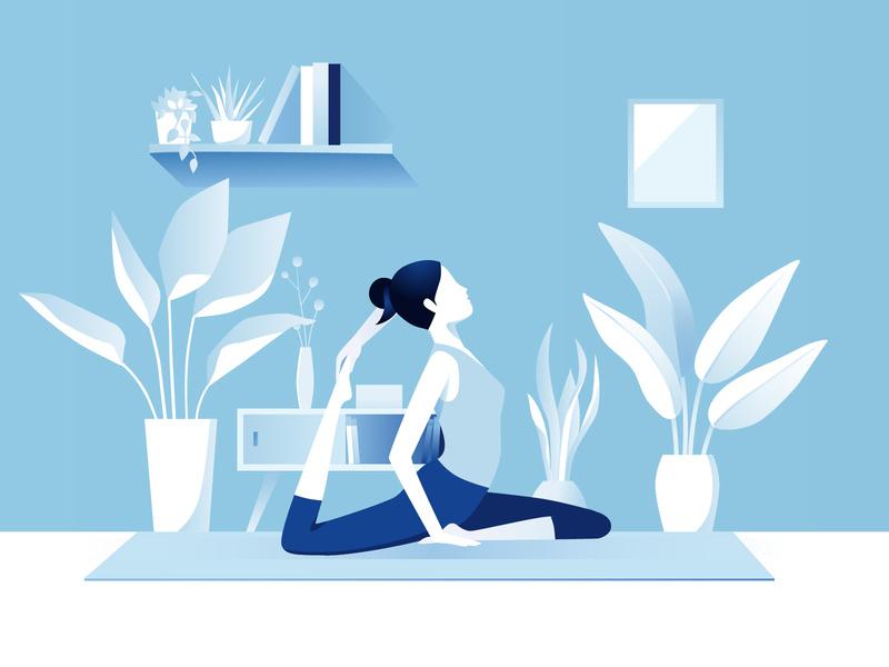 Tập Yoga - Làm gì cho ngày cuối tuần có ý nghĩa?