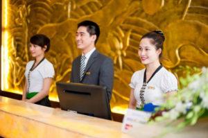 Lễ tân - Vĩ trí quan trọng trong khối ngành kinh doanh khách sạn