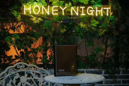 Quán nhậu Honey Night Itaewon Class