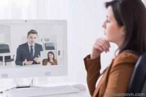 Phỏng vấn online: HR cần chuẩn bị những gì?