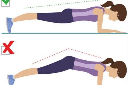 plank đúng cách