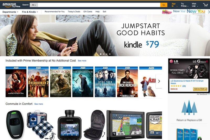 Website Amazon